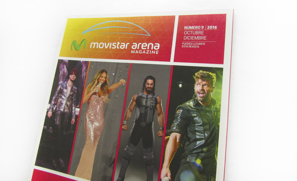 Revistas Movistar Arena