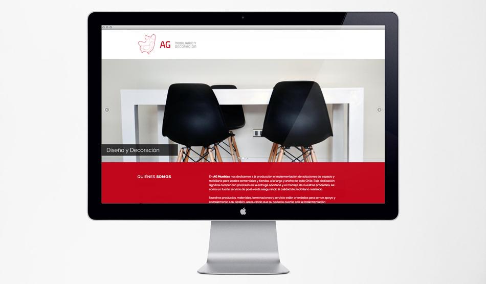 Sitio Web AG Muebles