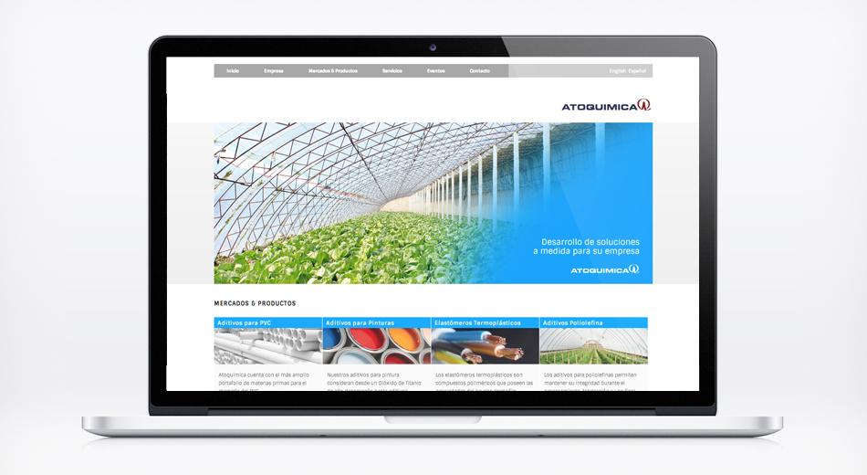 Sitio web Atoquimica