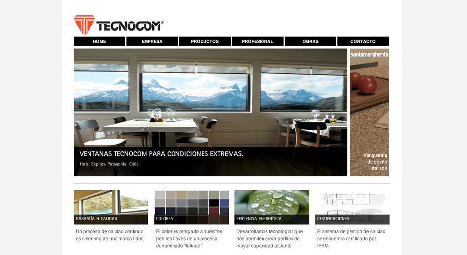 Sitio Web Tecnocom