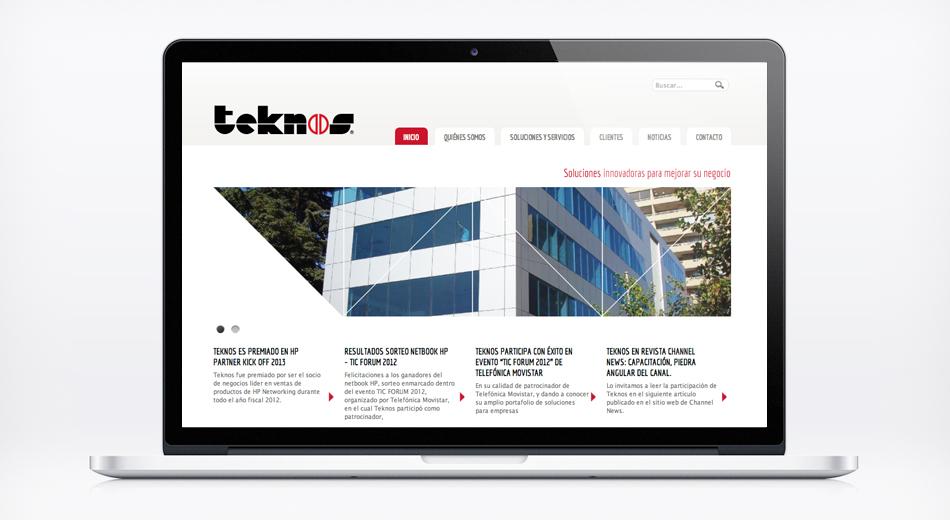 Sitio Web Teknos